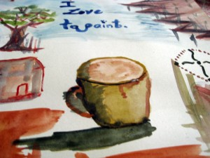 IMG 7805 300x225 Watercolor Painting: Experimenting is Fun