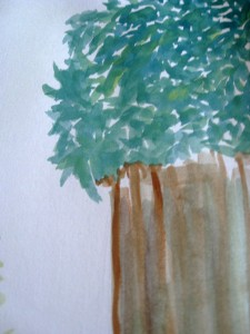 IMG 7832 225x300 Watercolor Painting: Experimenting is Fun