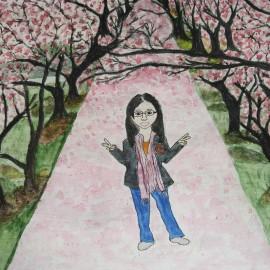 painting by elisa c.