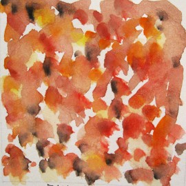 fall watercolor  harmony thoughts