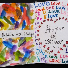 love believes and hopes all things