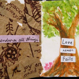Love endures all things and never fails