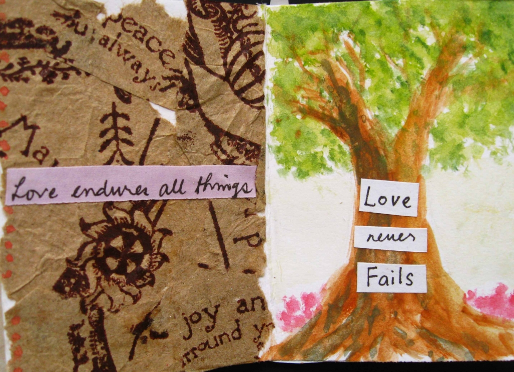 love endures and never fails