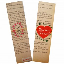 painted bookmark in watercolor 2