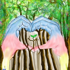 Love the Forest Digital Art