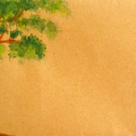 painted envelope