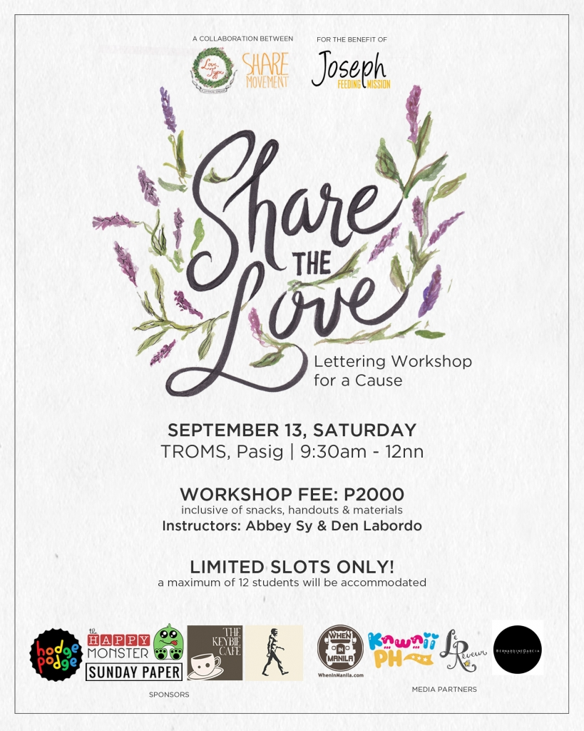 Share the Love poster