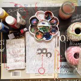 how to paint washers accessory