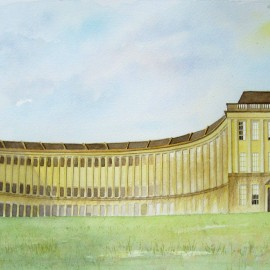 Royal Bath Crescent_Harmonythoughts