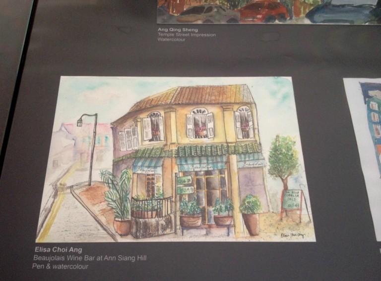 Sketches of Da Po Exhibit